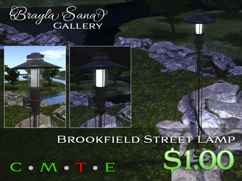 New Scripted Streetlamps at the Kitely Market