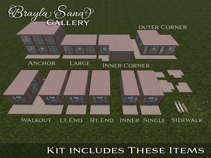 Shopping Plaza Kit 2
