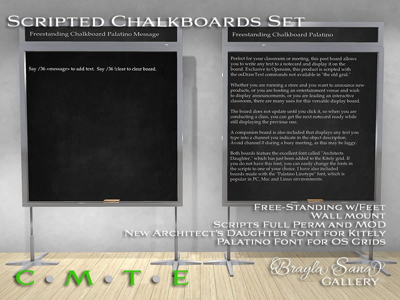 Scripted Blackboard