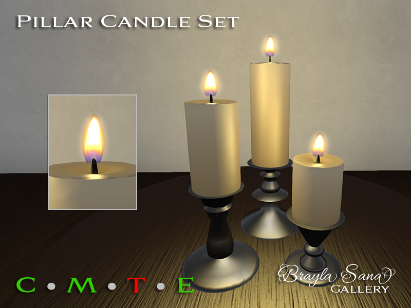 Updated Candle Flames
